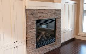 L shaped fireplace mantel on Custom-Fireplace. Quality electric ...