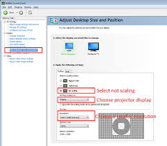 adjust size of image shrinking your projection display ubi interactive
