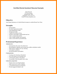 6 Registered Dental Assistant Resume Quotation Samples