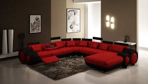 Brown And Red Living Room Ideas Cool Decorating Design