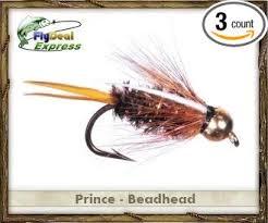 Bead Head To Hook Size Chart Amazon Com Fly Fishing Flies Prince Nymph Beadhead