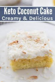 The Best Keto Coconut Cake Creamy Delicious Homemade Kasey Trenum
