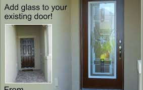 single glass exterior door top single glass front doors with adding glass to your existing front