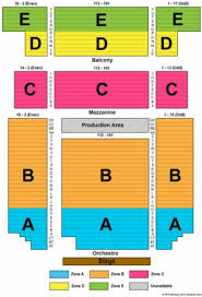 Bergen Pac Seating Chart Bergen Performing Arts Center Tickets In Englewood New