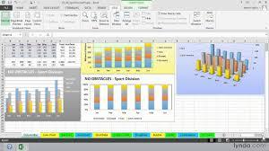 Excel 2013 Tutorial Using Column And Bar Charts Lynda Com