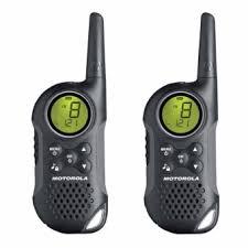 motorola walkie talkie. motorola tlkr t6 walkie talkie two way radio (black)