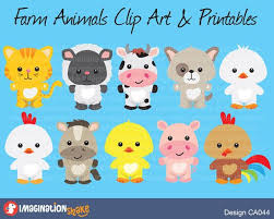 baby farm animals clip art. Delighful Art Farm Animals Clip Art U0026 Printables Set  By ImaginationShake On Baby R