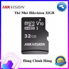 Thẻ nhớ HIKVISION 32GB 92MB/s chuyên dùng cho Camera HIKVISION EZVIZ  KBVISION DAHUA IMOU - Thẻ nhớ Micro SD 32GB HIKVISON - Bảo hành 2 Năm -  Bình Minh Company