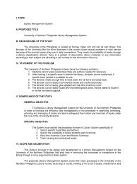 Management system thesis