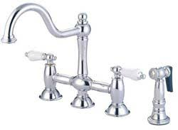 faucets widespread vintage style kitchen faucet  inch widespread kitchen faucet eod kitchenfaucets espl  inch widespre