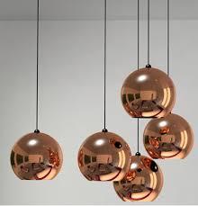 tom dixon copper shade lamps