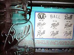 ball ideal jar. the chart with varying ball inscriptions over years is neat to look at and compare your own jars. i never noticed subtle differences in ideal jar