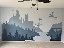 mural for our HP themed nursery ...