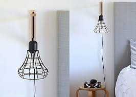 ikea lighting hack. DIY Cage Light Sconces Ikea Lighting Hack
