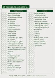 Порядок и гармония Контрольный журнал Раздел Здоровье Списки  Порядок и гармония Контрольный журнал Раздел Здоровье Списки аптечек
