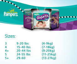Underjams Size Chart Pampers Active Fit Size 4 Maxi Jumbo Pack 68 Nappies