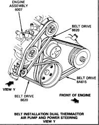 ford engine belt diagram ford wiring diagrams
