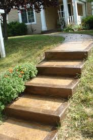 Outdoor Steps Front Step Design Pictures Concrete Steps And Concrete Stairs