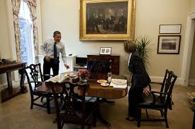 oval office paintings. File:Barack Obama And Nancy Pelosi In The White House Private Dining Room.jpg Oval Office Paintings