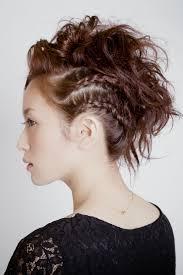 リーゼント風クールな編み込みセット Hairstyles2019