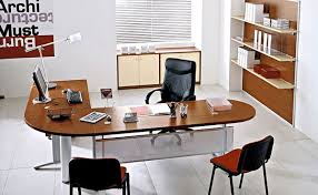 cool modern office decor. Very Small Office Room Decor With White Mixed Black Wall Cool Modern