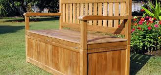 garden storage bench uk