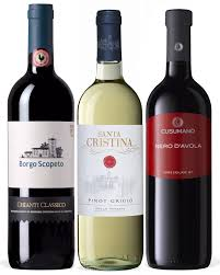 supplemental gift image italian wine gift set mixed collections from italy