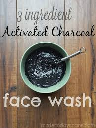 diy charcoal face mask charcoal coconut oil and baking soda