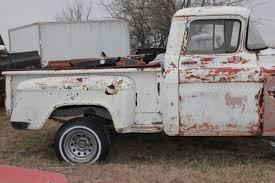 57 Chevy 3100 Task Force NAPCO 4x4 Pickup Truck / No Engine ...