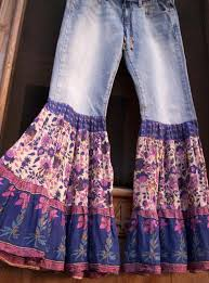 hippie bell bottom jeans india bells hippie bell bottoms jeans pants by slowfashionmovement
