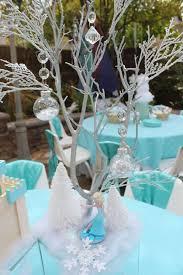 Frozen Table Centerpieces