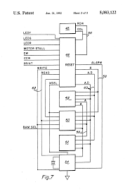 patent us5083122 programmable individualized security system for Detex Wiring Diagrams Detex Wiring Diagrams #15 Basic Electrical Schematic Diagrams