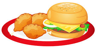 food clipart.  Food Hamburger And Chicken Legs Plate PNG Clipart  2125501e38ea468e423f85de782aef0c_meat To Food Clipart