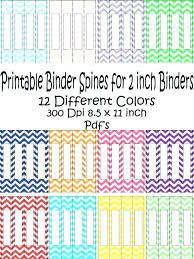 Printable Binder Inserts R Insert Template Cover Templates Free 2 Spine 1 Inch To