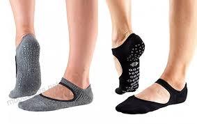 Tavi Noir Chey Grip Socks For Barre Yoga And Pilates 2 Pack