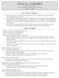 Resume Examples Education 71 Images Educational Resume Cv