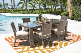 hospitality rattan fiji 7 piece wicker dining set modern wicker dining sets wicker dining sets wicker dining wicker com