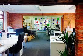 office barn. Spottydog Leicester New Office Barn