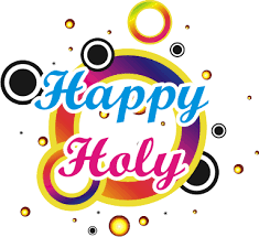 Download HAPPY HOLI TEXT Free PNG transparent image and clipart