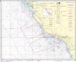 Noaa Nautical Chart 18022 San Diego To San Francisco Bay