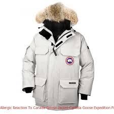 Allergic Reaction To Canada Goose Jacket Canada Goose Expedition Parka  Light Grey Men s Coat