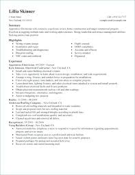 Electrical Foreman Resume Samples Electrician Resume Sample ...