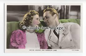 b4123 - Film Actress Priscilla Lane & Actor Wayne Morris - Film Partner  postcard / HipPostcard