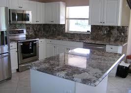Backsplash For Bianco Antico Granite Simple Design Ideas