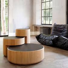 contemporary nesting tables levels
