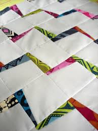 Awesomely awesome zig zag quilt tutorial. made here in a doll ... & Awesomely awesome zig zag quilt tutorial. made here in a doll quilt size,  but Adamdwight.com