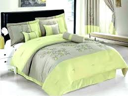 lime green bedding sets casual bedroom decor and gray duvet covers uk