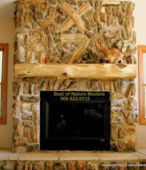 rustic fireplace log mantel log fireplace mantel rustic fireplace