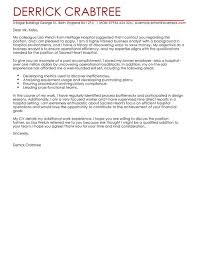 Cover Letter Business Analyst Business Analyst Cover Letter Examples