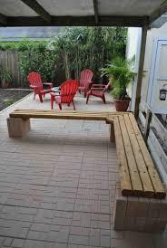 cinderblock furniture. Diy Cinder Block Outdoor Furniture Firepit And Seating The Is In A Raised Cinderblock